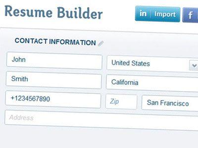 top 5 free resume builder work