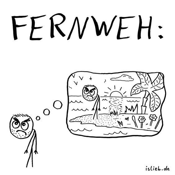 Hahaha! Ich lach mich tot! Fernweh | #islieb
