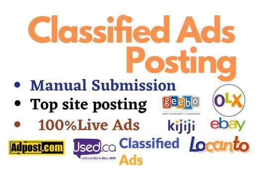 I will do classified ads posting the USA in top sites | Classified ads,  Marketing courses, Youtube marketing