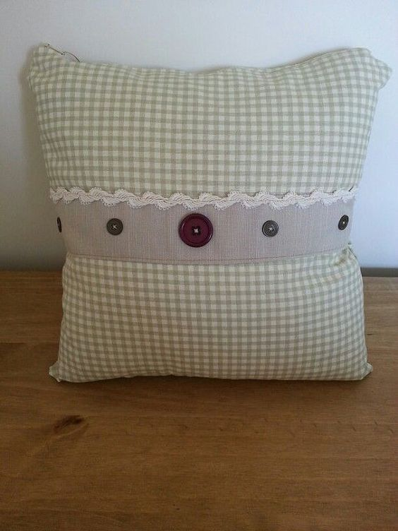 Handmade cushion by CranbrookCrafts on Etsy, £15.00
