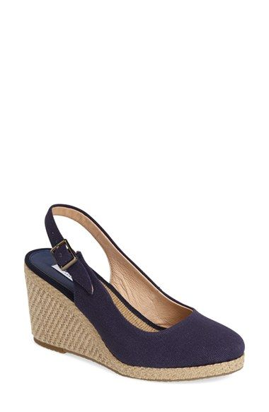 Free shipping and returns on Dune London 'Karley' Espadrille Slingback Wedge (Women) at Nordstrom.com. A breezy slingback sandal looks ready for warmer weather with a basket-woven espadrille wedge and platform.