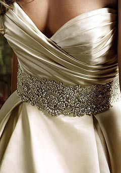 not a fan of the satin but i like the sweetheart neckline (and maybe the bling)
