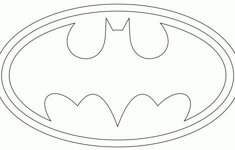 Imagenes Del Escudo De Batman Para Dibujar - ARCHIDEV