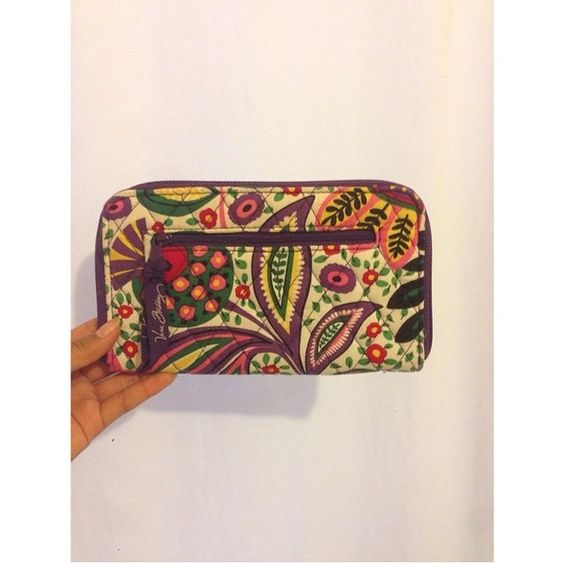 vb NWOT wallet! viva la vera pattern I TAKE PAPAL NWOT in viva la vera! bought for so much and never used once! $34shipped️️ or open to partials! Vera Bradley Tops