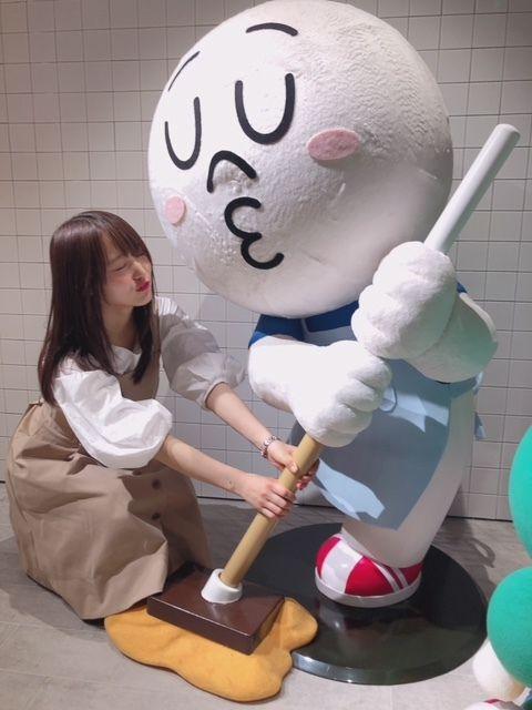 LINEキャラと菅井友香