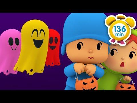 Pocoyo En Espanol La Casa Del Terror 136 Min Caricaturas Y Dibujos Animados Para Ninos Youtube Animated Cartoons Pocoyo Easy Crafts For Kids