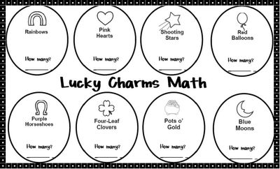 St. Patty's- Lucky Charms activity