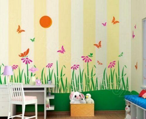 رسومات حوائط غرف أطفال 2020 صور مودرن ورسمات وتصميمات غاية في الروعة Home Decor Decals Decor Home Decor