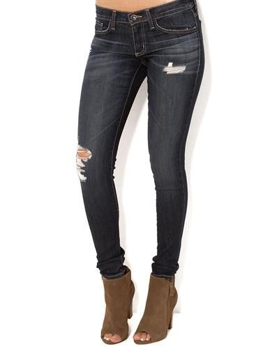 """Title: Plastic By Gly Destroyed Skinny Jeans - Made in USA  Brand Name: Plastic by Gly  Item Type: Apparel  Item: Jeans  Made In: USA  Gender: Women  Condition: Brand New  Material: 73% Cotton, 14% Rayon, 11% Polyester, 2% Spandex  Care Instructions: Machine wash  Fit: Classic Fit"""
