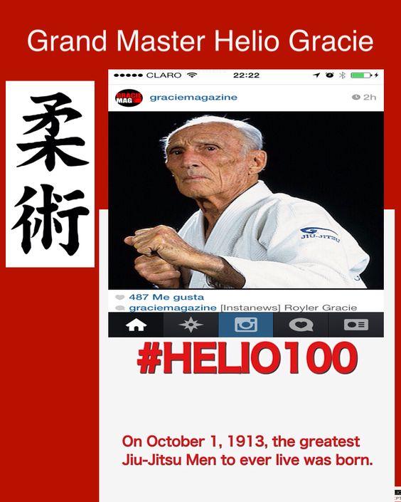 Oss Grand Master Helio Gracie