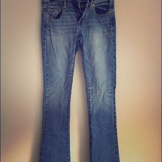 AE kick boot jeans Great condition. No stains or holes. American Eagle Outfitters Jeans