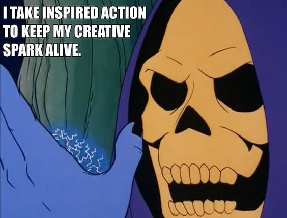Skeletor Affirmations | skeletor is love | Pinterest ...