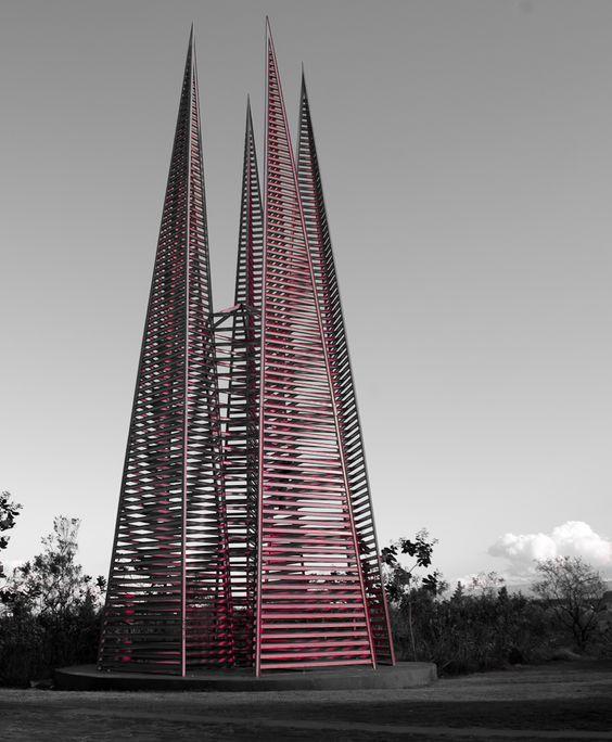 Espacio Escultórico, Ciudad Universitaria, UNAM