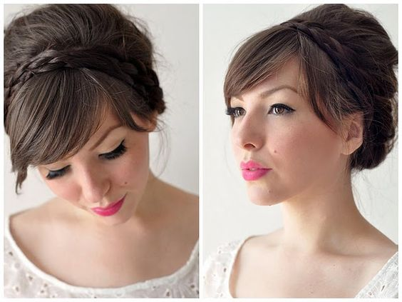 lovely maiden updo...
