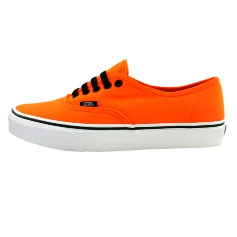Shop for Vans Authentic Skate Shoe in Orange at Journeys Shoes ...