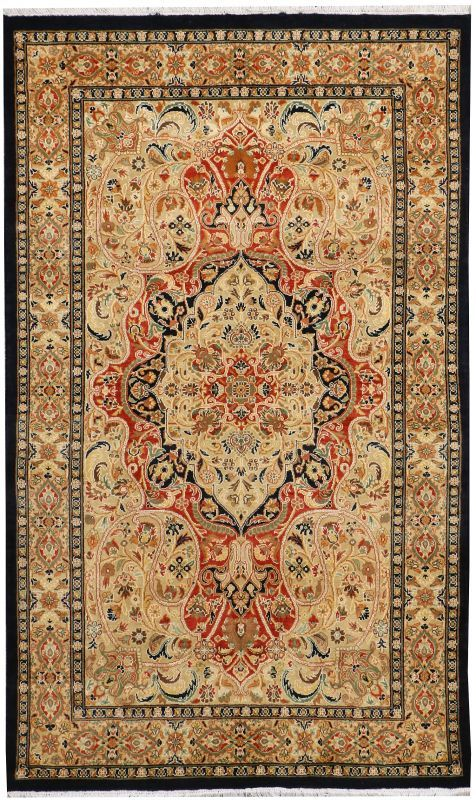 Kirman 3 1 X 5 2 Ft No 37725 Expensive Rug Handcrafted Rugs Silk Rug