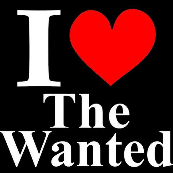 New Custom Screen Printed Tshirt I Heart The Wanted Band Music Small - 4XL Free Shipping. $16.00, via Etsy.