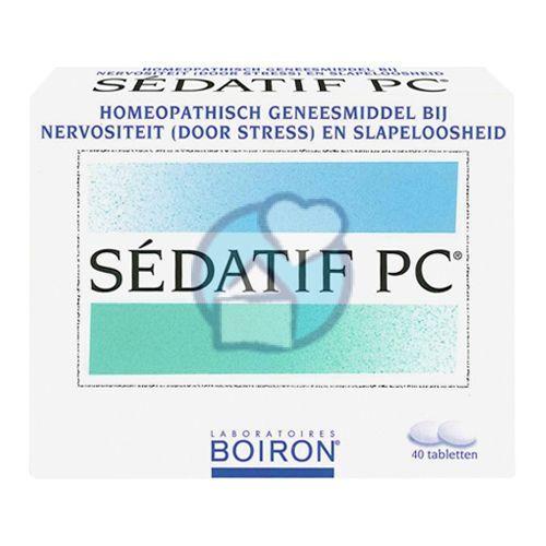 Boiron Sedatif Pc 90 Tabletten 40 Tabletten Boiron Sedatif Pc Tablet 40th 90 S