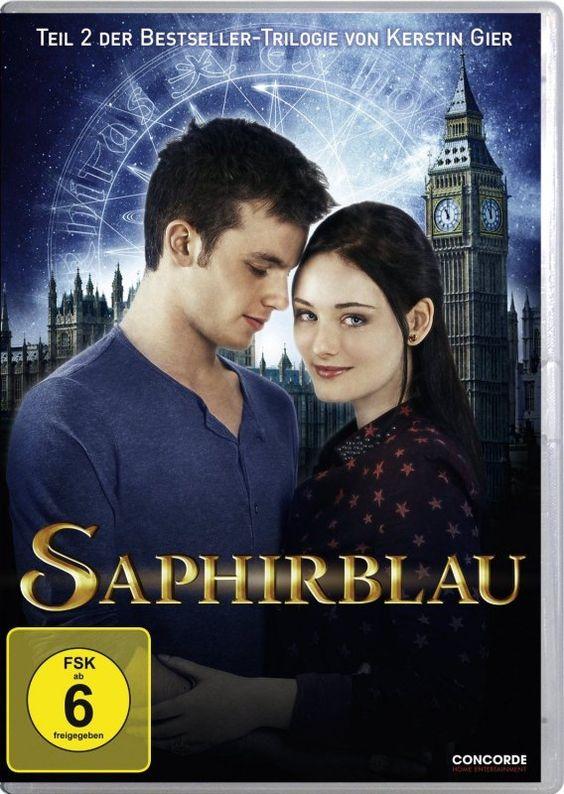 Saphirblau – Der 2. Teil Besteller Kerstin Gier – DVD – OVP