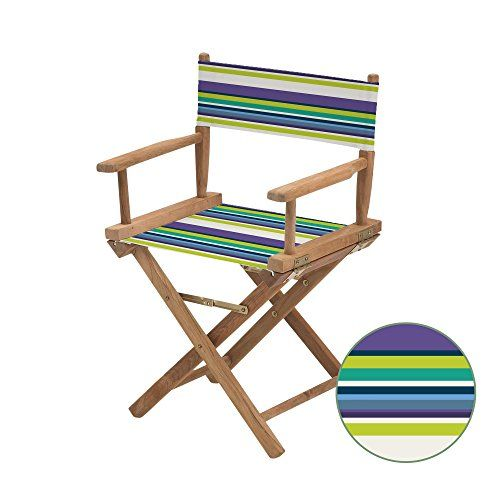 Gardenista Water Resistant Purple Stripes Design Replacement Cover For Directors Chair Directors Chair Home Decor Furniture Outdoor Chairs