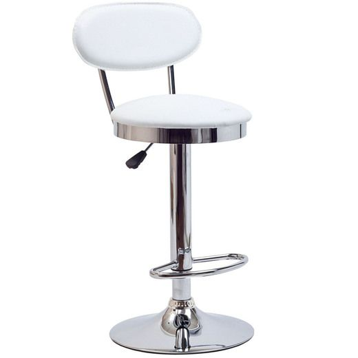 Modway Retro Bar Stool in White