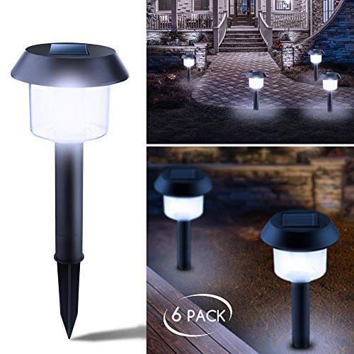 Brightown Solar Path Lights Best Solar Garden Lights Solar Landscape Lighting Solar Powered Yard Lights