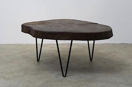 le corbusier s beautiful table tronc d arbre designed. Black Bedroom Furniture Sets. Home Design Ideas