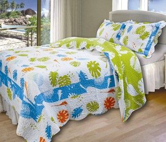 Beach Themed Quilts Beach Bedding Beach Bedding Sets