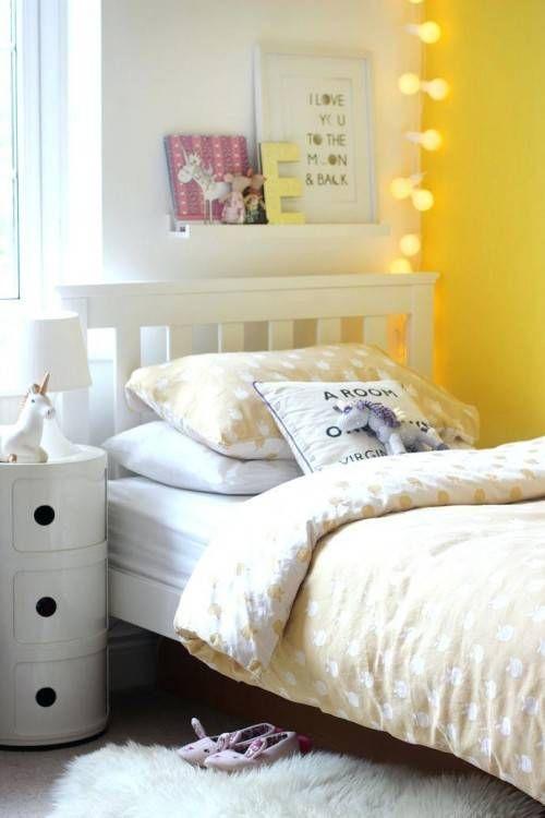 Grey And Mustard Bedroom Yellow Girls Bedroom Yellow Kids Rooms Yellow Bedroom Decor