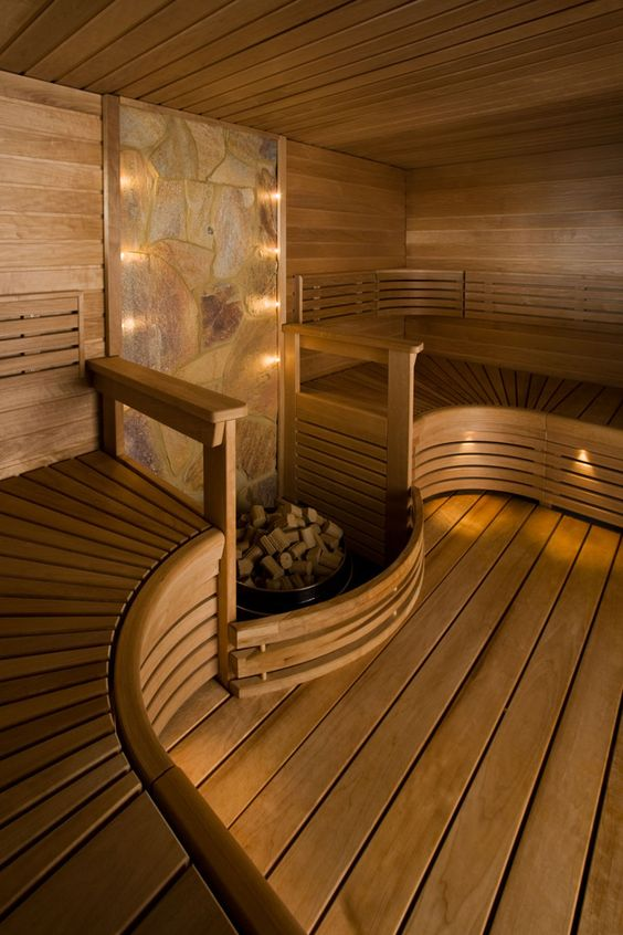 Saunas on pinterest Sauna blueprints