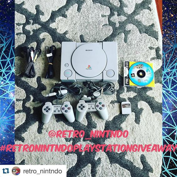 On instagram by first.curse  #retrogaming #microhobbit (o)  http://ift.tt/1mAzoVR  #Repost @retro_nintndo with @repostapp.  Don't forget to enter my giveaway...giving away this Playstation with 2 controllers a memory card and megaman x4. Rules are as follows (if the original post reaches 1k likes I will custom paint the Playstation!!) will pick winner JANUARY 15th  1. Must be following me 2. Repost with hashtag #retronintndoplaystationgiveaway and tag me 3. Tag 2 or more friends…