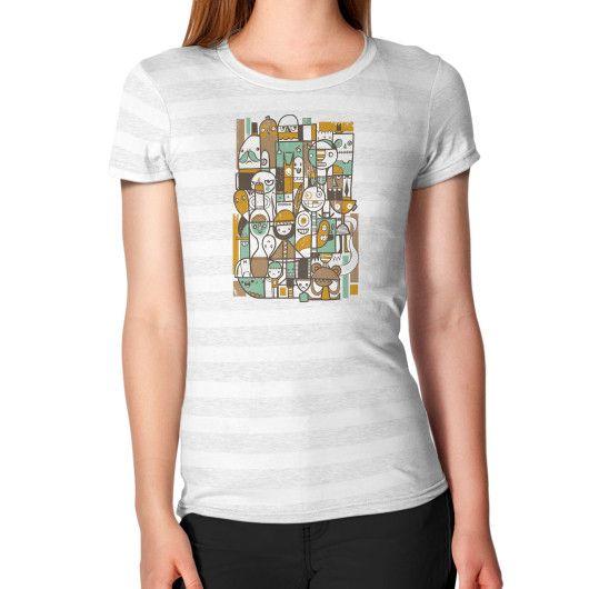 Retro People Women's T-Shirt