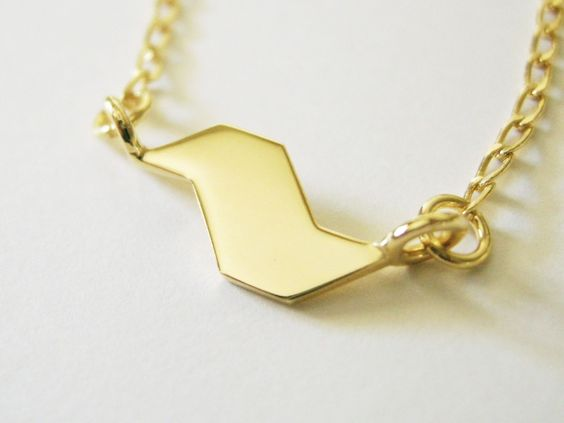 Colar SP Pequeno Ouro