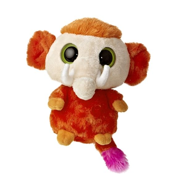 YooHoo and Friends Woolee the 5 Inch Plush Mammoth by Aurora at Stuffed Safari