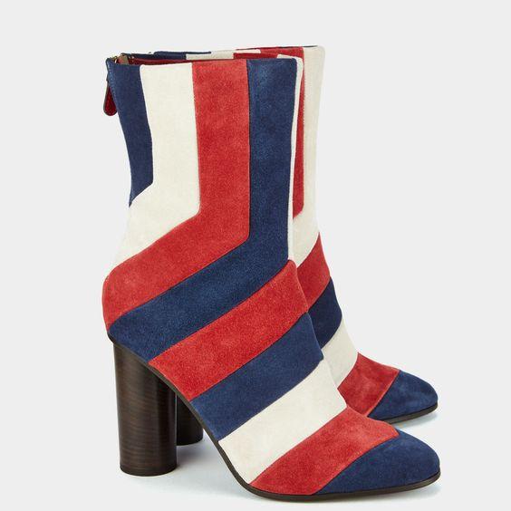 Arcade Stripe Boots