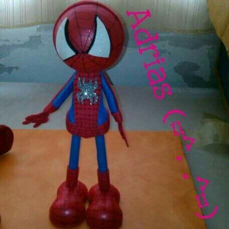 Fofucho hombre araña