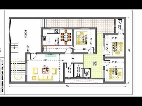 30x55 3 Bhk Best House Plan Youtube Indian House Plans Bungalow Floor Plans House Design