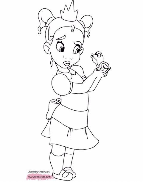 38+ Baby easy princess coloring pages ideas