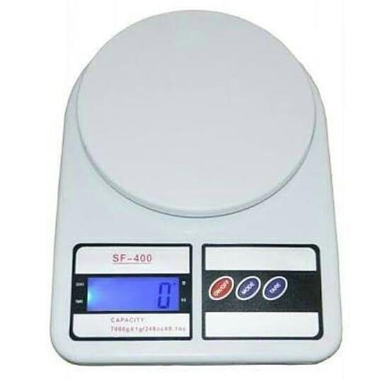 10kg 1g Stainless Steel Kitchen Scales Lcd Slim Large Digital Diet