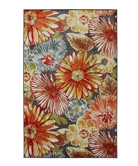 Look at this Mohawk Home Floral Charm Rug on #zulily today!