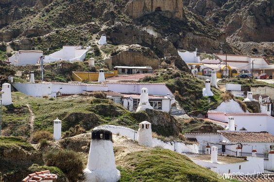 Höhlenwohnungen in Guadix