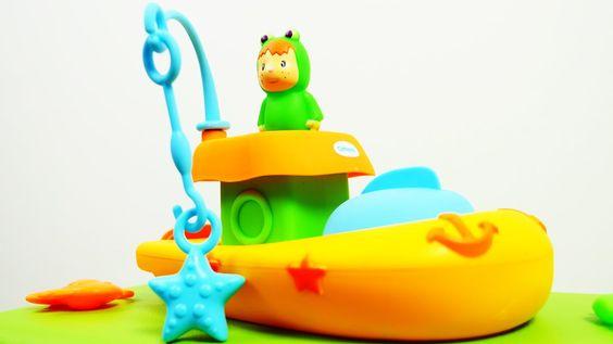 Lustige Videos für Kinder: Kleine Freunde - Wir gehen fischen - Tolle Sp...