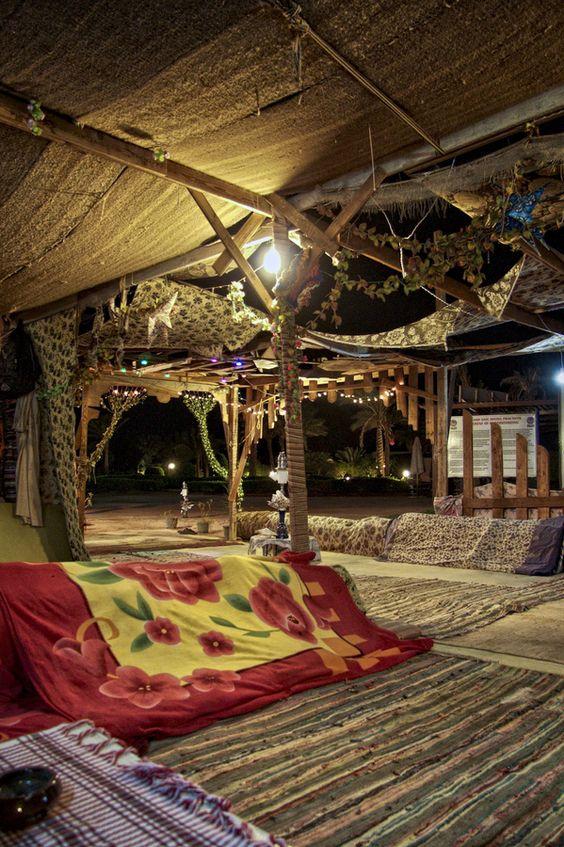 Sharm el-Sheikh, Egypt Midnight Bedouin dinner in the desert