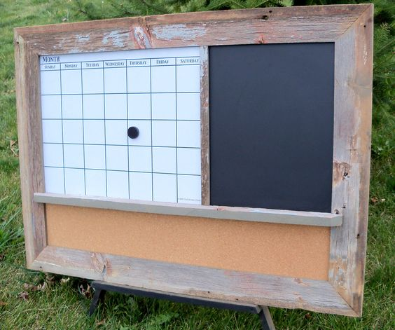 Dry Erase Calendar Messages And Calendar On Pinterest