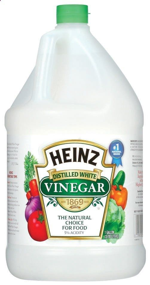 Rid your garden of bugs and aphids by spraying your plants with a solution of vinegar and water. 1 cup vinegar to a gallon of water. Vinegar is a natural pesticide so you can get rid of many critters by using a solution mixed with water.