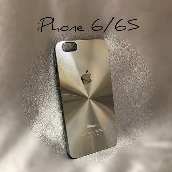 "Case for iPhone 6/6S Please, read "" DESCRIPTION "" before buying   Brand New !!! High Quality   Luxury Aluminum Skin Case!! ( IPhone LOGO )  Super Protective your mobile   Ultra Thin Slim + Shockproof   *Plastic Frame    *All case's have been checked to ensure perfect fit.   Price is FIRM  PLEASE   Lowballers will be ignored  Ship !!same day/ next day except Sunday 's and Holidays.  All my items are in Stock ready for immediate SHIPPING   Thanks Accessories Phone Cases"