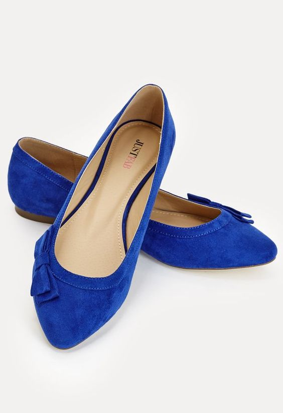 a6b4ac4d20d Hamsa Shoes in Cobalt - Get great deals at JustFab