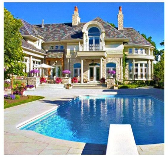 The gallery for my dream house drawing with swimming pool for My dream house drawing