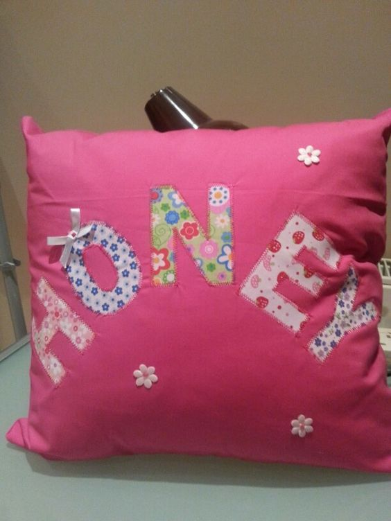 Little girls cushion, want to make one for lexi