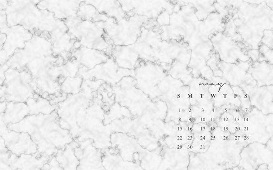 Marble Desktop Wallpaper Calendar : Free may desktop wallpapers